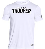 Under Armour Trooper Star Wars T-shirt palestra, White