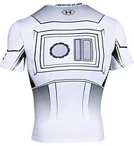 Under Armour Trooper Full Suir - Kompressionsshirt - Herren, White