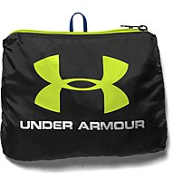 Under Armour UA Adaptable Duffle Zaino, Black/Yellow