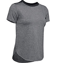 Under Armour Armour Sport Crossback - T-Shirt - Damen, Grey/Black