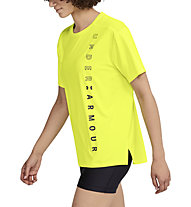 Under Armour Armour Sport SS Oversized - T-shirt fitness - donna, Yellow