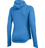 Under Armour UA Balaclava - maglia running donna, Light Blue