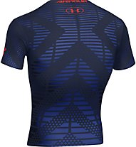 Under Armour Beast Lion Trainingsshirt, Navy/Dark Orange