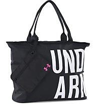 Under Armour UA Big Wordmark borsa tracolla, Black