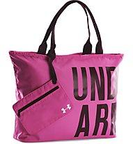 Under Armour UA Big Wordmark borsa tracolla, Rebel Pink