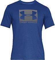 Under Armour UA Boxed Sportstyle - T-Shirt - Herren, Blue