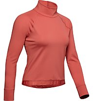Under Armour RUSH™ ColdGear® - Sweatshirt - Damen, Red