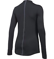 Under Armour UA ColdGear Armour Mock-Shirt Damen, Black