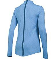 Under Armour UA ColdGear Armour Maglia a maniche lunghe fitness donna, Light blue