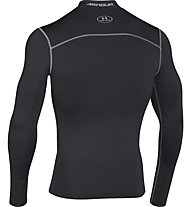 Under Armour UA Coldgear Armour Compression Mock - Kompressionsshirt Langarm, Black