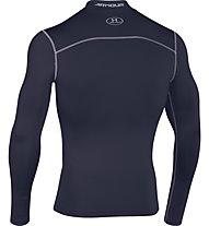 Under Armour UA Coldgear Armour Compression Mock - Kompressionsshirt Langarm, Midnight Navy Blue