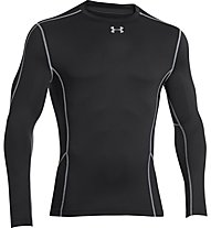 Under Armour UA ColdGear Evo Compression Hybrid Mock, Black