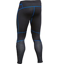 Under Armour Coldgear Chrome Tight - Laufhose, Black/Blue Jet/Reflective