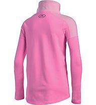 Under Armour UA Cozy ColdGear T-Shirt a manica lunga fitness ragazza, Pink