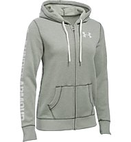 Under Armour UA Favorite Fleece Full Zip - Kapuzenjacke - Damen, Downtown Green