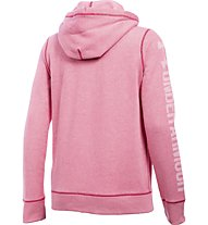 Under Armour UA Favorite Fleece Full Zip - Kapuzenjacke - Damen, Knock Out Pink