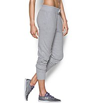 Under Armour UA Favorite French Terry Jogger Pantaloni lunghi fitness donna, Grey