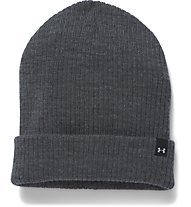 Under Armour UA Favorite Knit Boyfriend Beanie Damen, Grey Heather