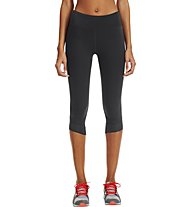 Under Armour Fly-By Compression Capri Damen, Black/Black/Reflective