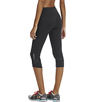 Under Armour UA Fly-By Compression Capri, Black/Black/Reflective