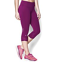 Under Armour UA Fly-By Compression Capri, Aubergine