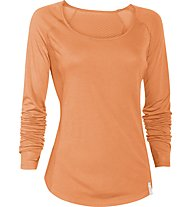 Under Armour Fly By Damen-Shirt Langarm, Cyber Orange