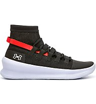 Under Armour Future SIG - scarpe da basket - uomo, Black/Red