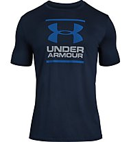 Under Armour GL Foundation SS T - T-shirt fitness - uomo, Dark Blue