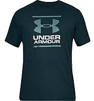 Under Armour GL Foundation SS T - T-shirt fitness - uomo, Dark Green