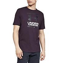 Under Armour UA GL Foundation SS T - T-shirt fitness - uomo, Violet