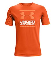 Under Armour GL Foundation SS T - T-shirt fitness - uomo, Orange