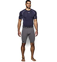 Under Armour UA HeatGear Armour Compression Herren Kompressionshose kurz, Grey
