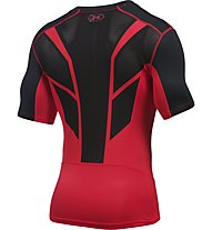 Under Armour UA HeatGear CoolSwitch Supervent Kompressionsshirt Herren, Red