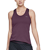 Under Armour UA HeatGear Racer - canotta fitness - donna, Purple