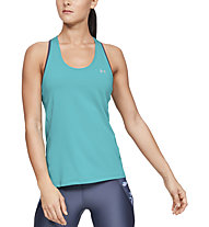 Under Armour UA HeatGear Racer - canotta fitness - donna, Azure