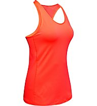 Under Armour UA HeatGear Racer - canotta fitness - donna, Orange