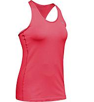 Under Armour UA HeatGear Racer - Top Training - Damen, Light Red