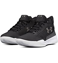 Under Armour Jet Mid - Basketballschuh - Herren, Black