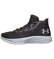 Under Armour UA Jet Mid - Basketballschuhe - Herren, Dark Grey
