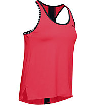 Under Armour Knockout - top fitness - donna, Red