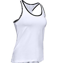 Under Armour Knockout - top fitness - donna, White