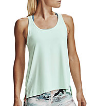 Under Armour Knockout - top fitness - donna, Light Green