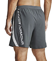 Under Armour Launch SW Branded 18 cm - pantaloni corti running - uomo, Dark Grey