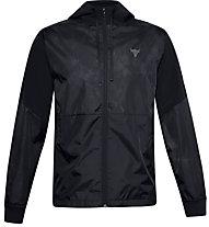 Under Armour Project Rock Legacy - giacca della tuta - uomo, Black