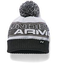 Under Armour Beanie UA Pom Mütze Jungen, Black