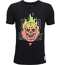 Under Armour UA Project Rock Bsr SS - T-Shirt - Herren, Black
