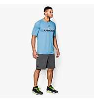 Under Armour Raid International Short, Carbon Heather