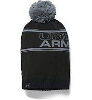 Under Armour UA Retro Pom Beanie, Black