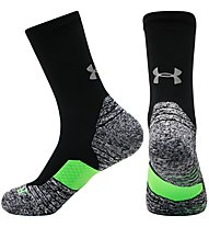 Under Armour UA Run Cushion Crew - Laufsocken, Black