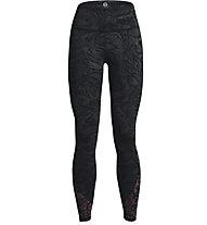 Under Armour UA Rush Legging 6M Novelty - Trainingshose - Damen, Black